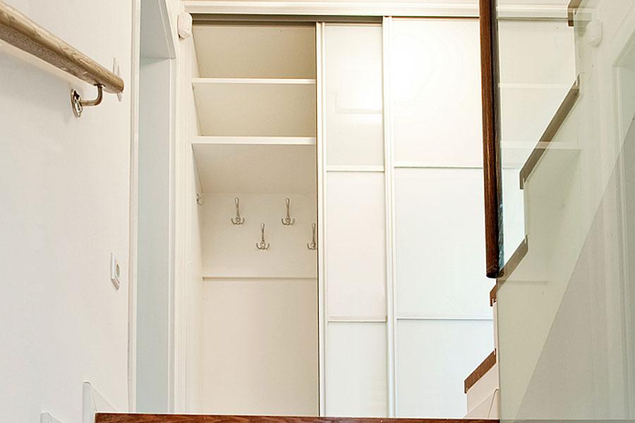 Sliding wardrobe doors in white gloss white glass and white matte landing wardrobe doors planetlyrics Gallery
