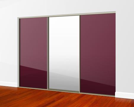 Sliding Mirror Wardrobe Doors Direct 234 and 5 Door Mirrored