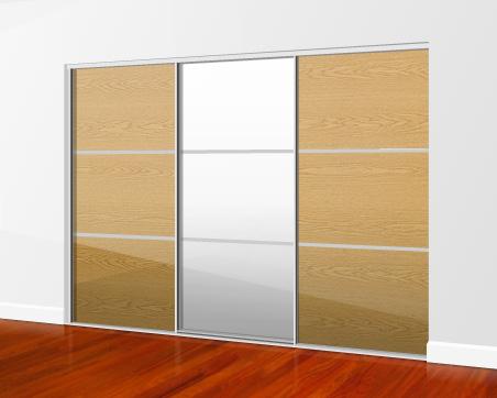 sliding mirror wardrobe doors direct 2 3 4 and 5 door mirrored