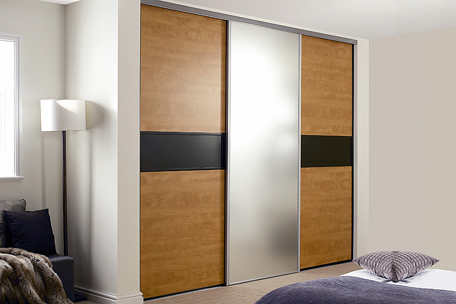 Steel Wardrobe Sliding Doors
