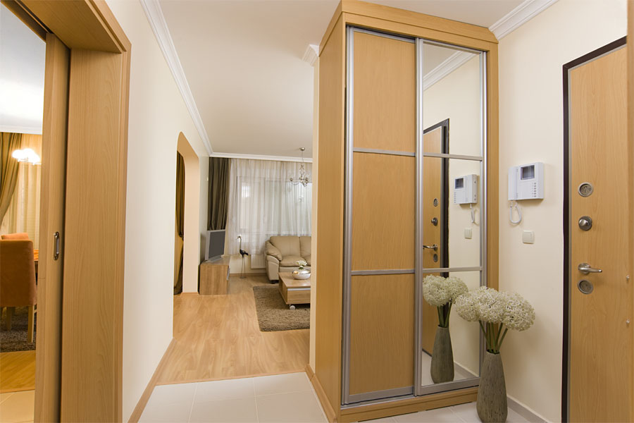 Narrow wardrobe doors