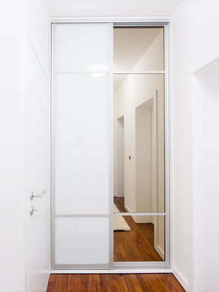 Small sliding wardrobe